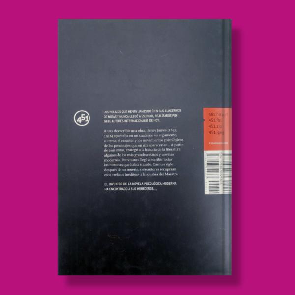 After Henry James - Varios Autores - 451 Editores