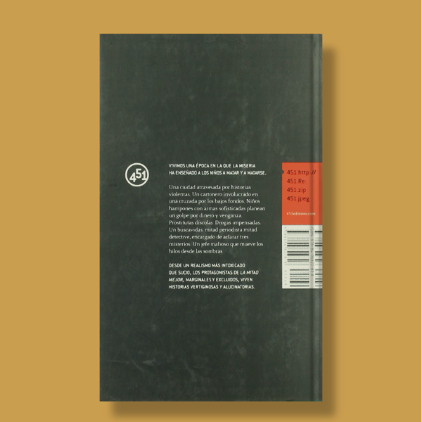 La mitad mejor - Marcos Herrera - 451 Editores