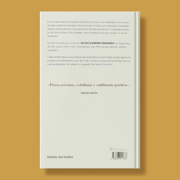 Un ojo siempre parpadea - Miguel Carcasona - Tropo Editores