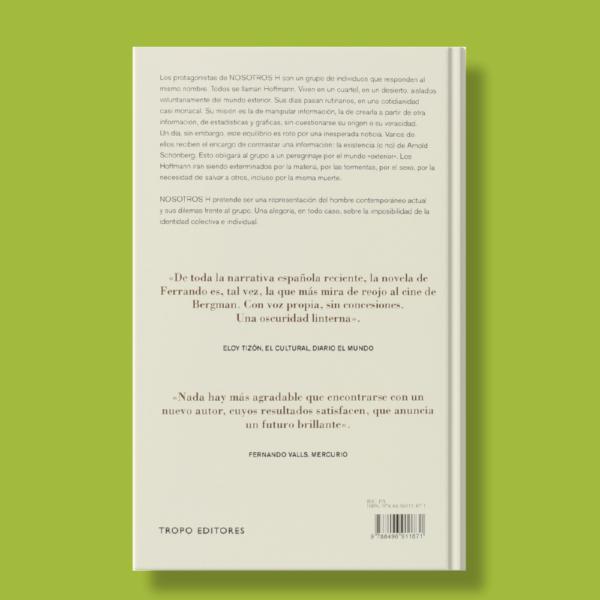 Nosotros H - Ignacio Ferrando - Tropo Editores