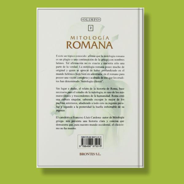 Mitología Romana - Francesc Ll.Cardona - Brontes S.L.