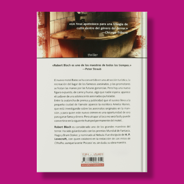 La mansión bates: Psicosis III - Robert Bloch - La Factoría
