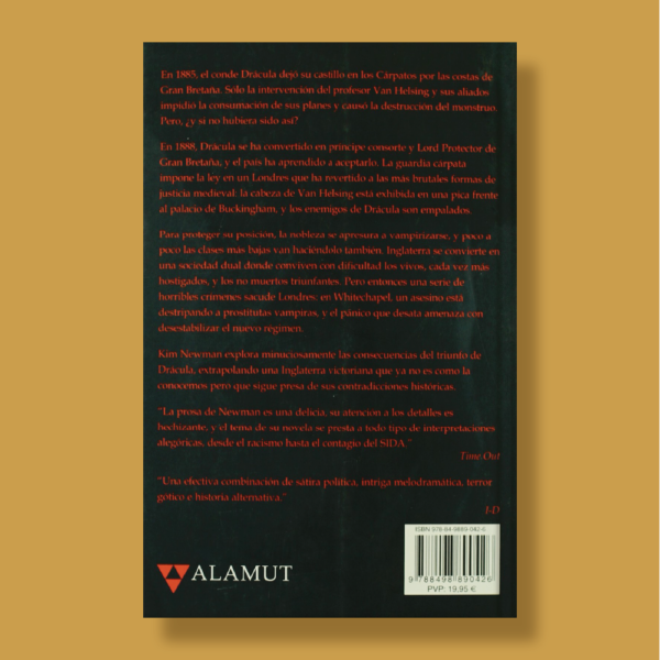 La era de drácula - Kim Newman - Alamut