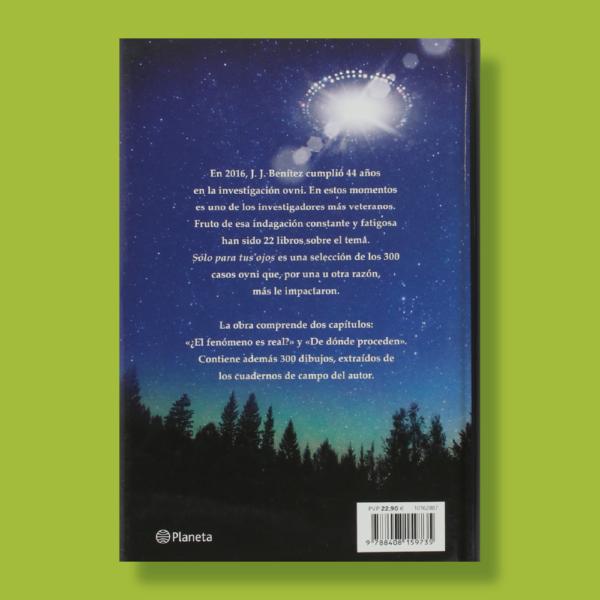 Solo para tus ojos - JJ Benítez - Planeta