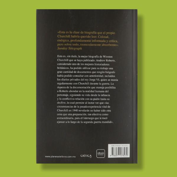 Churchill: La biografía - Andrew Roberts - Crítica