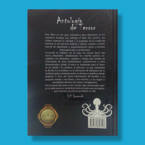 Antología de terror - H.P. Lovecraft - Negret Editores