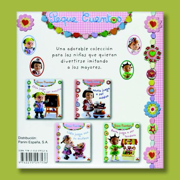 Peque cuentos: Lidia juega con su muñeca - Varios Autores - Panini Books