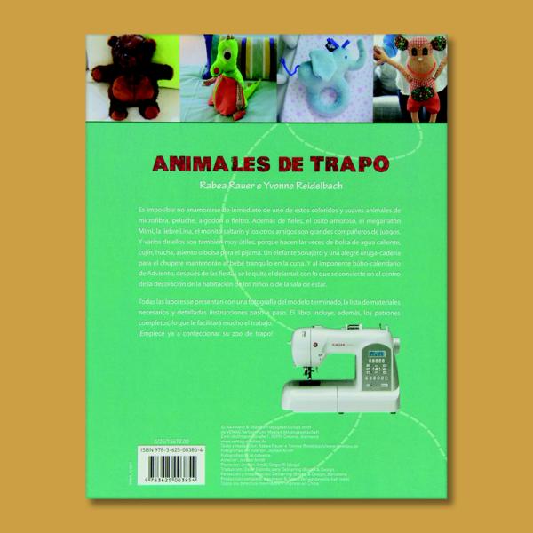Animales de trapo - Rabea Rauer & Yvonne Reidelbach - NGB