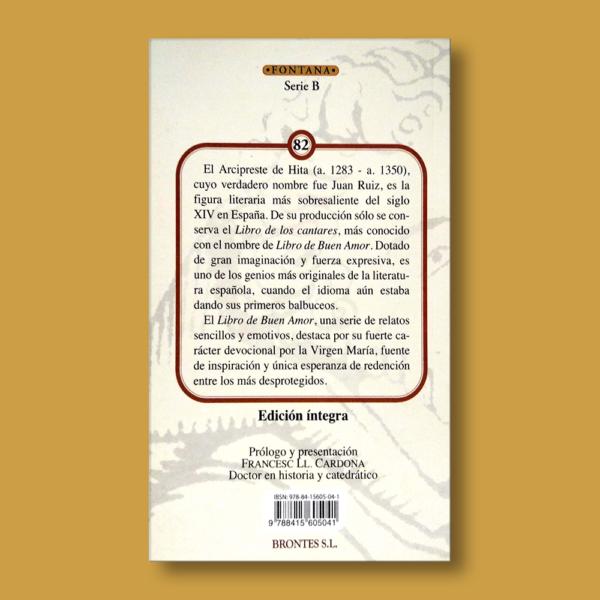 Libro de buen amor - Arcipreste de Hita - Ediciones Brontes