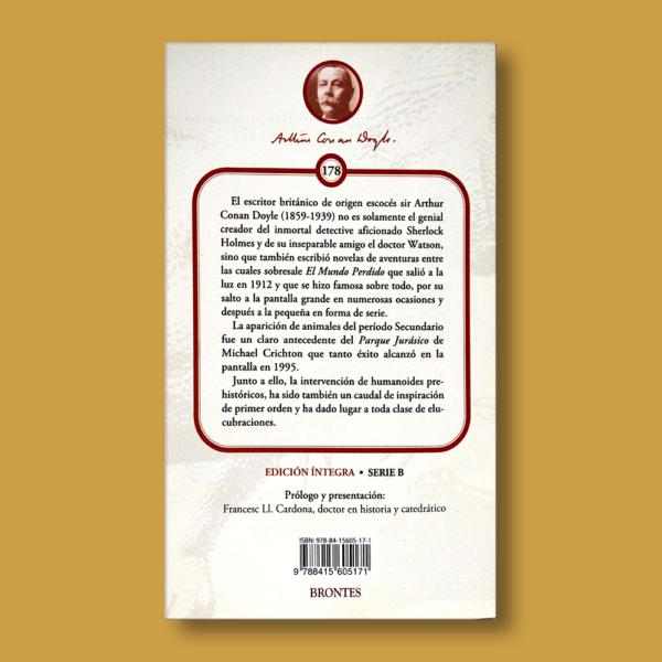 El mundo perdido - Arthur Conan Doyle - Ediciones Brontes