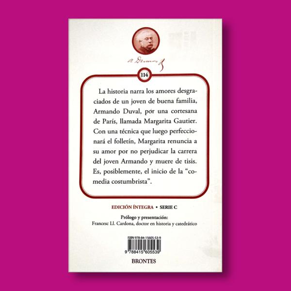 La dama de las Camelias - Alejandro Dumas - Ediciones Brontes