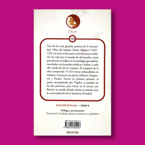 La divina comedia - Dante - Ediciones Brontes