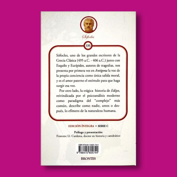 Antígona - Sófocles - Ediciones Brontes