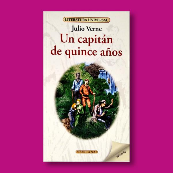 Un capitán de quince años - Julio Verne - Ediciones Brontes