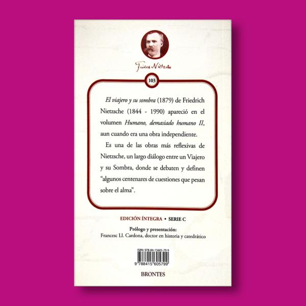 El viajero y su sombra - Friedrich Nietzsche - Ediciones Brontes