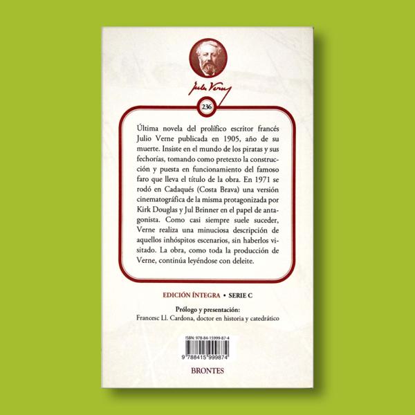 El faro del fin del mundo - Julio Verne - Ediciones Brontes