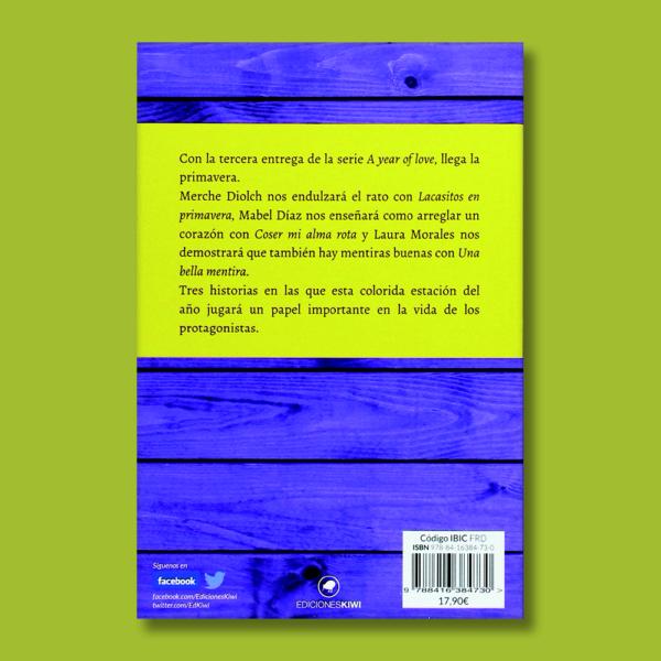 Spring - Merche Diolch, Mabel Díaz & Laura Morales - Ediciones Kiwi