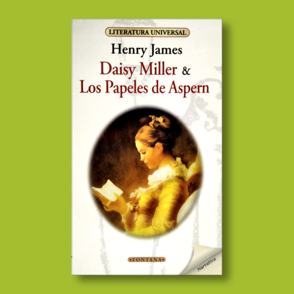 Daisy Miller y los papeles de Aspern - Henry James - Ediciones Brontes