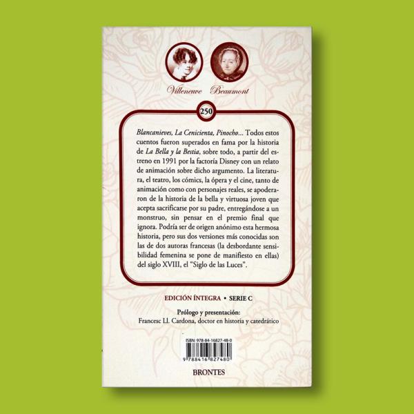 La bella y la bestia - Villeneuve & Beaumont - Ediciones Brontes