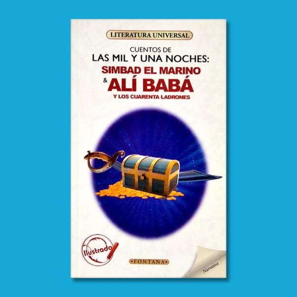 Cuentos de las mil y una noches: Simbad el Marino y Alí Babá y los cuarenta ladrones - N/A - Ediciones Brontes