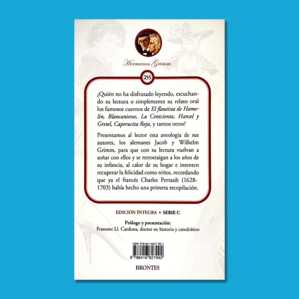 Selección de cuentos - Hermanos Grimm - Ediciones Brontes