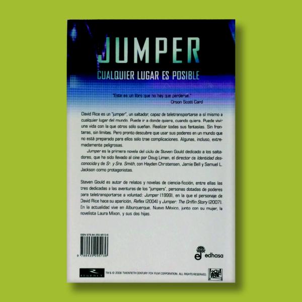 Jumper - Steve Gould - Marlow