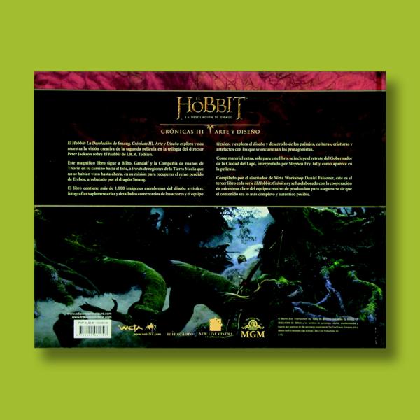 El Hobbit: La desolación de Smaug Crónicas III - Daniel Falconer - Weta
