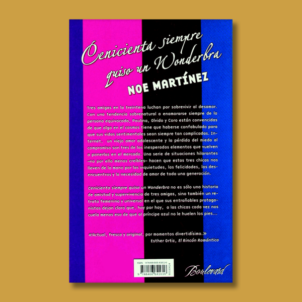 Cenicienta siempre quiso un wonderbra - Noe Martínez - Vergara