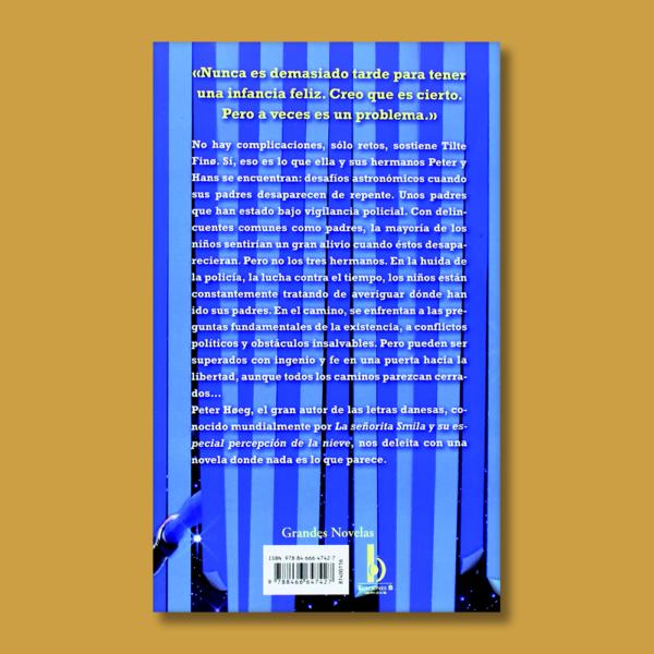 Los niños de los cuidadores de elefantes - Petter Hoeg - Ediciones B.S.A