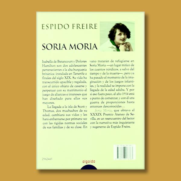 Soria Moria - Espido Freire - Algaida