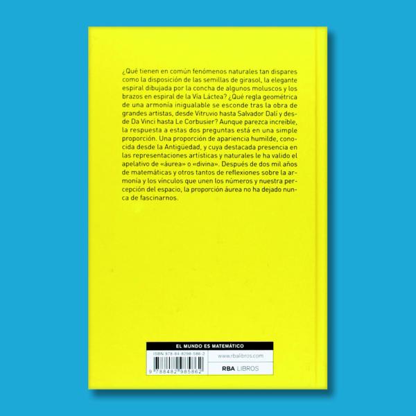 La divina proporción: Un lenguaje matemático de la belleza - Fernando Corbalán - National Geographic
