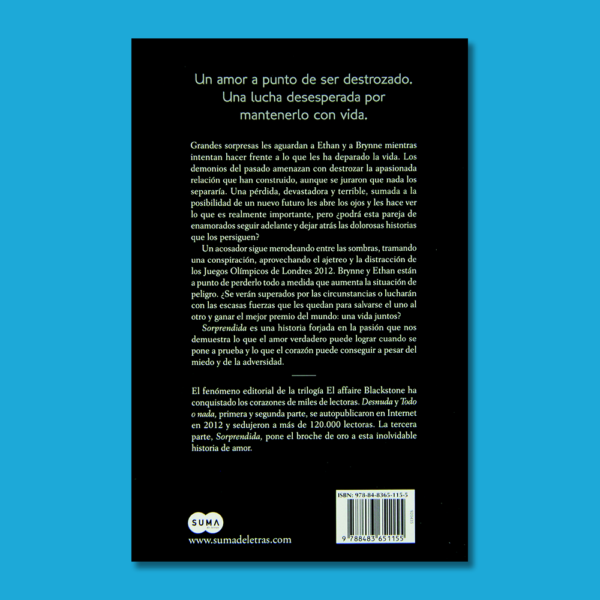 Sorprendida: El Affaire blackstone III - Raine Miller - Prisa Ediciones