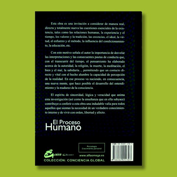 El proceso humano - Antonio Calleja González - Gaia Ediciones
