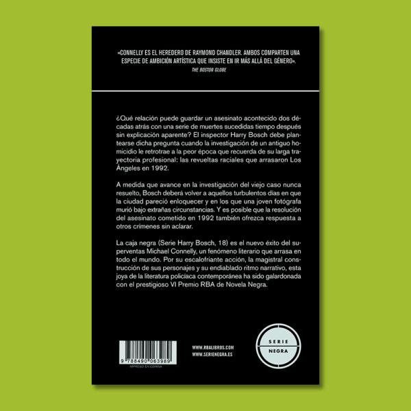 La caja negra: Un caso del inspector Harry Bosh - Michael Connelly - RBA