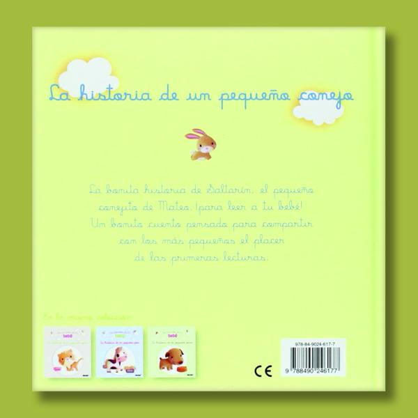 Los animales de mi bebé: La historia de un pequeño conejo - Varios Autores - Panini Books
