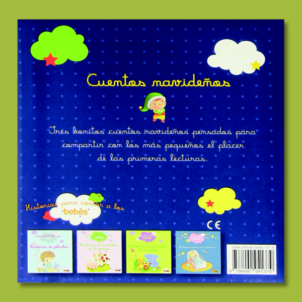 Historias para contar a los bebés: Cuentos navideños - Varios Autores - Panini Books