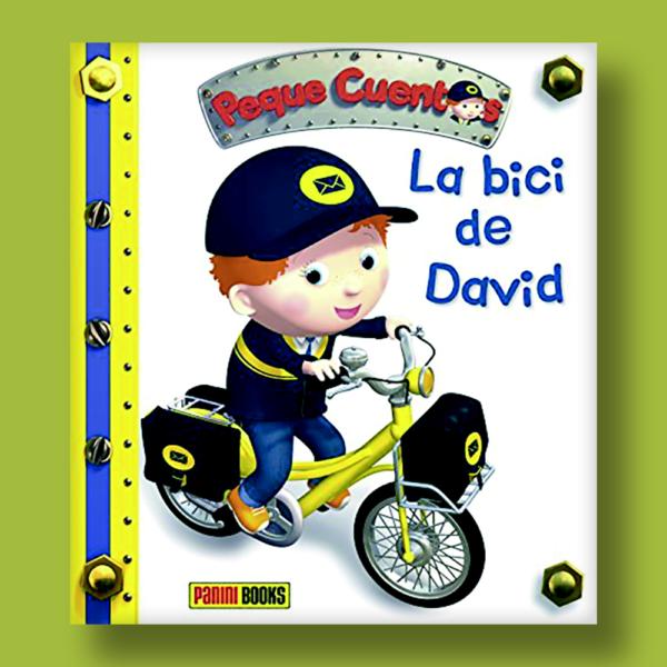 Peque cuentos: La bici de David - Varios Autores - Panini Books
