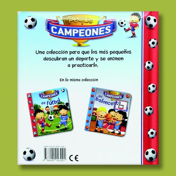 Peque campeones de fútbol - Varios Autores - Panini Books