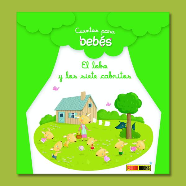 Cuentos para bebés: El lobo y los siete cabritos - Varios Autores - Panini Books