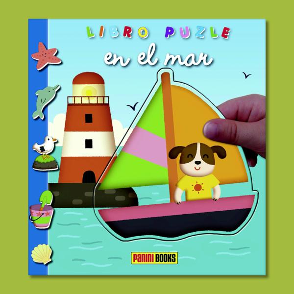 Libro puzle en el mar - Varios Autores - Panini Books
