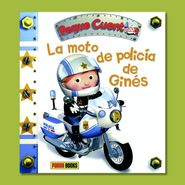 La moto de polícia de Ginés - Nathalie Belineau - Panini Books