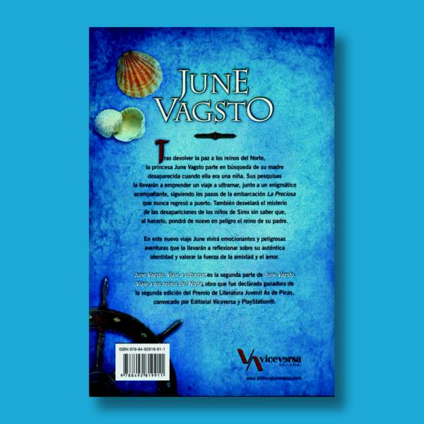 June Vagsto I: Viaje a ultramar + June Vagsto II: Viaje a los reinos del norte. - Beatriz Lerma - Editorial Viceversa