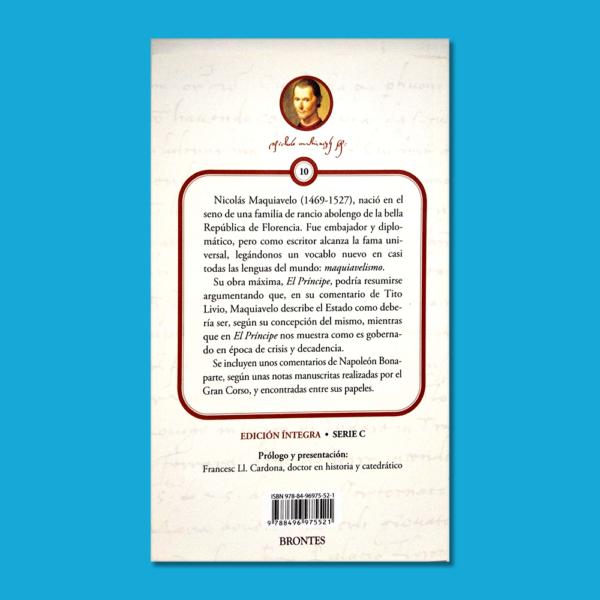 El príncipe - Nicolás Maquiavelo - Ediciones Brontes