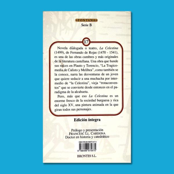 La celestina - Fernando de Rojas - Ediciones Brontes
