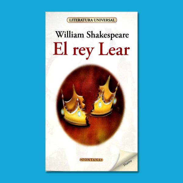 El rey Lear - William Shakespeare - Ediciones Brontes