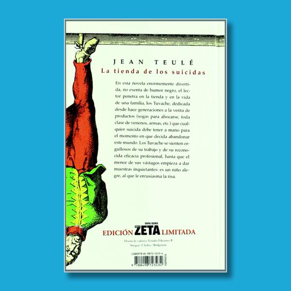 La tienda de los suicidas - Jean Teulé - BSA