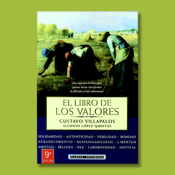El libro de los valores - Gustavo Villapalos - Planeta
