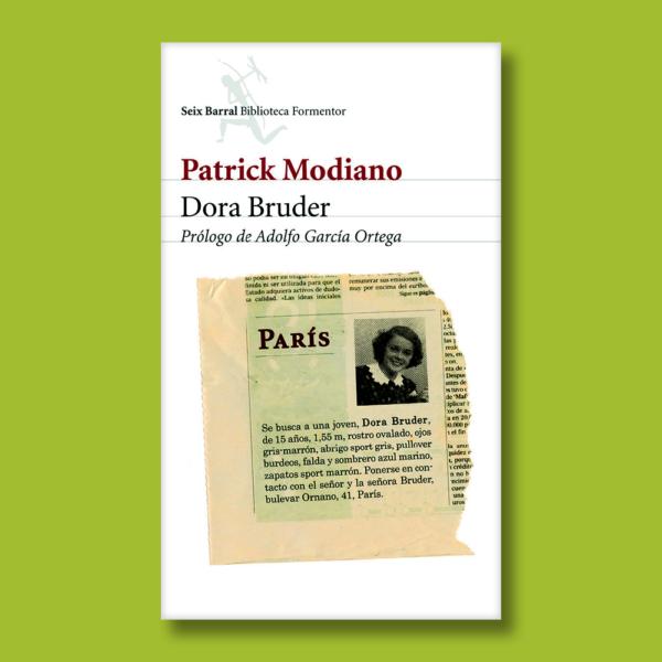 Dora Bruder - Patrick Modiano - Seix Barral