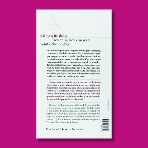 Dos años, ocho meses y veintiocho noches - Salman Rushdie - Seix Barral