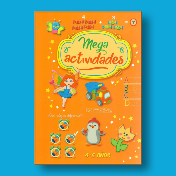 Mega actividades: 4-5 años - Varios Autores - N/A